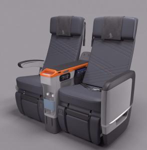 SIngapore Airlines Premium Economy Seat