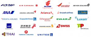 Star Alliance Member logos